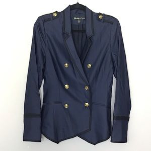 Elizabeth and James Jackets & Coats - Elizabeth and James Navy military blazer